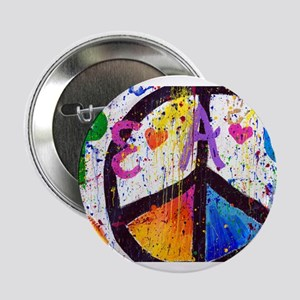 "Love and Peace and Children 2.25"" Button"