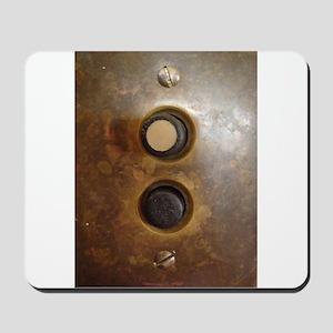 Victorian Push Button Light Switch Mousepad