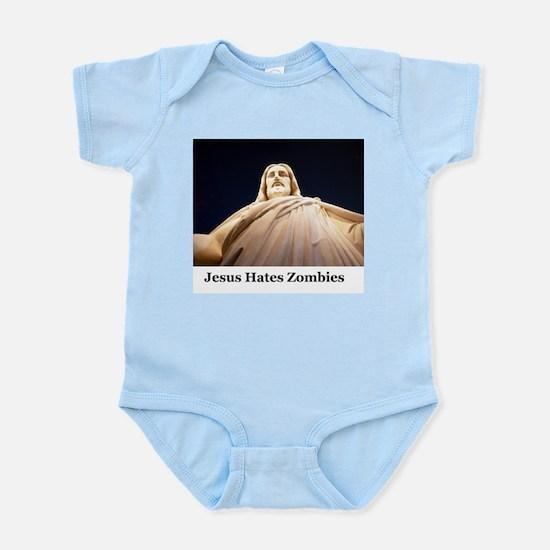 Jesus Hates Zombies Infant Bodysuit