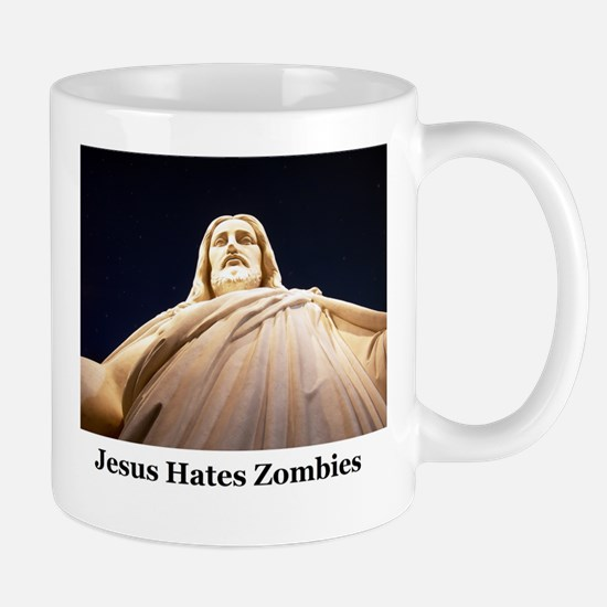Jesus Hates Zombies Mug