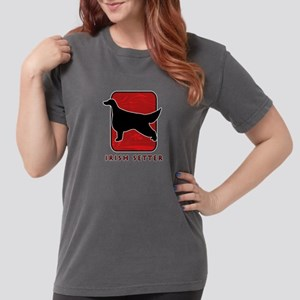 29-redsilhouette Womens Comfort Colors Shirt