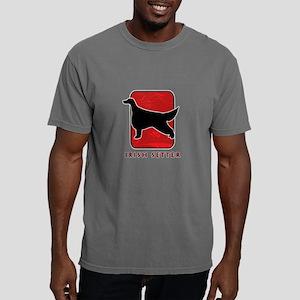 29-redsilhouette Mens Comfort Colors Shirt