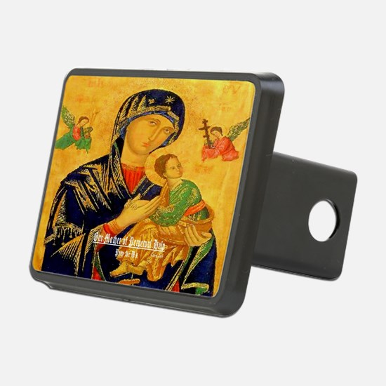 Our Mother of Perpetual Help Byzantine Hitch Cover