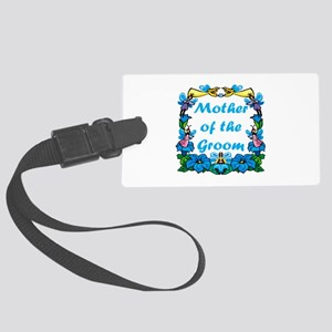 Mother Of Groom Large Luggage Tag