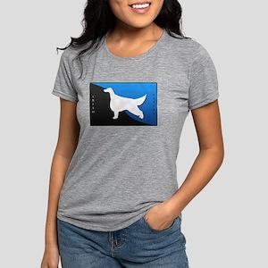 5-blueblack Womens Tri-blend T-Shirt