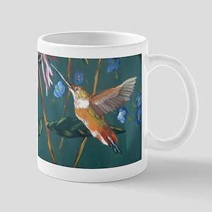 Hummingbird gold Mug