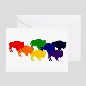 buffalopride Greeting Card