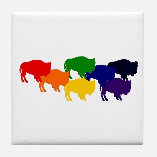 buffalopride Tile Coaster