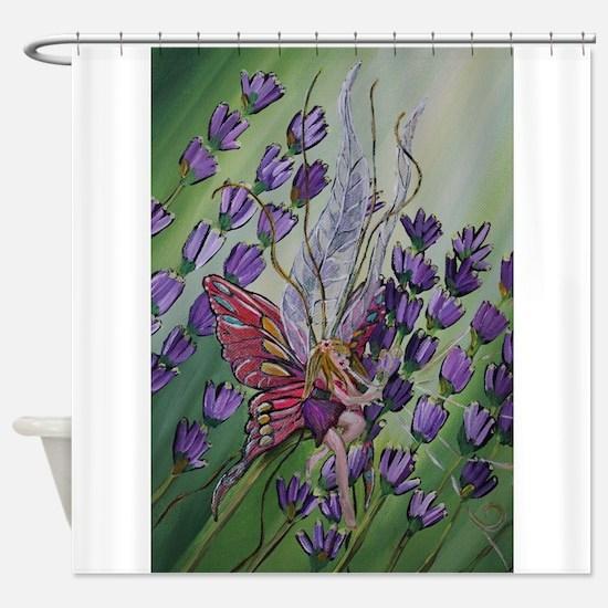 Cordillia the lavender fairy Shower Curtain