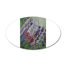 Cordillia the lavender fairy Wall Decal