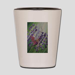 Cordillia the lavender fairy Shot Glass