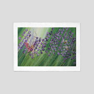 Cordillia is the Lavender Fairy 5'x7'Area Rug