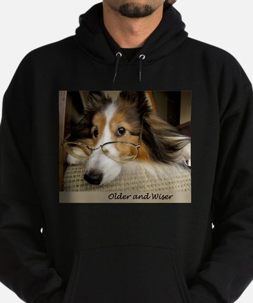 Older and Wiser Hoodie (dark)