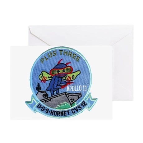Apollo 11 & CVS-12 Greeting Cards (Pk of 10)