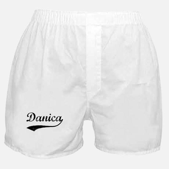 Vintage: Danica Boxer Shorts