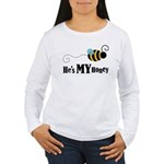 He's My Honey Matching Women's Long Sleeve T-Shirt
