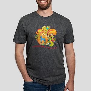 9-retro Mens Tri-blend T-Shirt