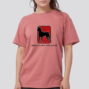 4-redsilhouette Womens Comfort Colors Shirt