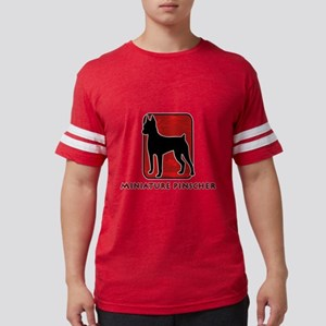 4-redsilhouette Mens Football Shirt