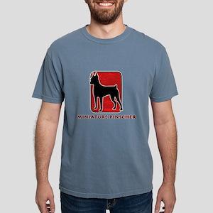 4-redsilhouette Mens Comfort Colors Shirt