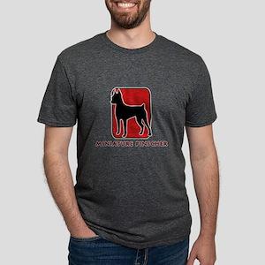 4-redsilhouette Mens Tri-blend T-Shirt