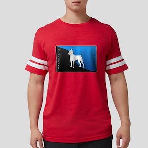 4-blueblack Mens Football Shirt