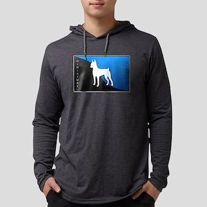 4-blueblack Mens Hooded Shirt