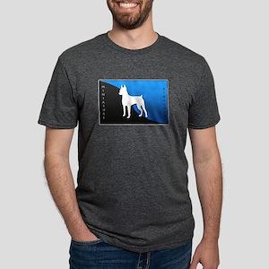 4-blueblack Mens Tri-blend T-Shirt
