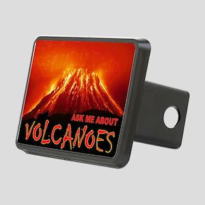 VOLCANOES Rectangular Hitch Cover