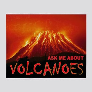 VOLCANOES Throw Blanket