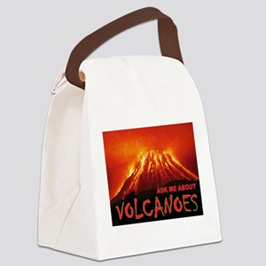 VOLCANOES Canvas Lunch Bag