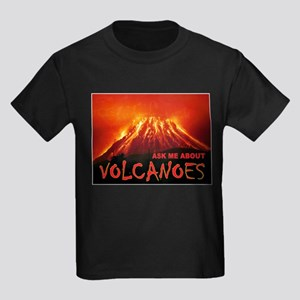VOLCANOES Kids Dark T-Shirt