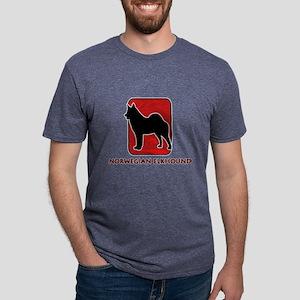 8-redsilhouette Mens Tri-blend T-Shirt