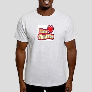 logo love churros Light T-Shirt