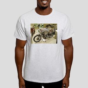 Rat-Rod Motorcycle Light T-Shirt