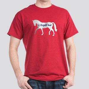 EquiChat.com Equestrian Dark T-Shirt