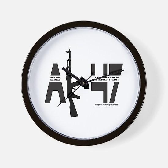 AK-47/SECOND AMENDMENT Wall Clock