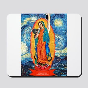 CrossFit Lady of Guadalupe Mousepad
