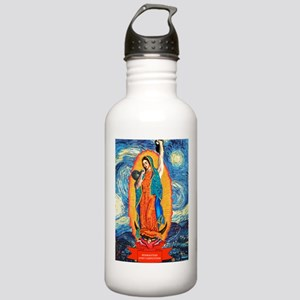 CrossFit Lady of Guadalupe Stainless Water Bottle