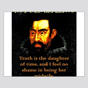 Truth Is The Daughter Of Time - Kepler Small Poste