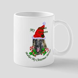 Belgian Tervuren Christmas 11 oz Ceramic Mug