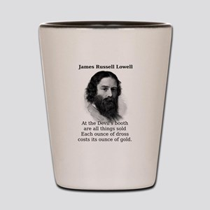 At The Devil's Booth - James Russell Lowell Sh