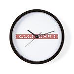 Barrelhouse Wall Clock