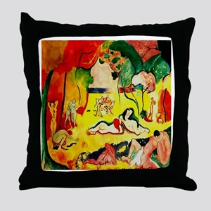 The Joy of Life Matisse 1905 Throw Pillow