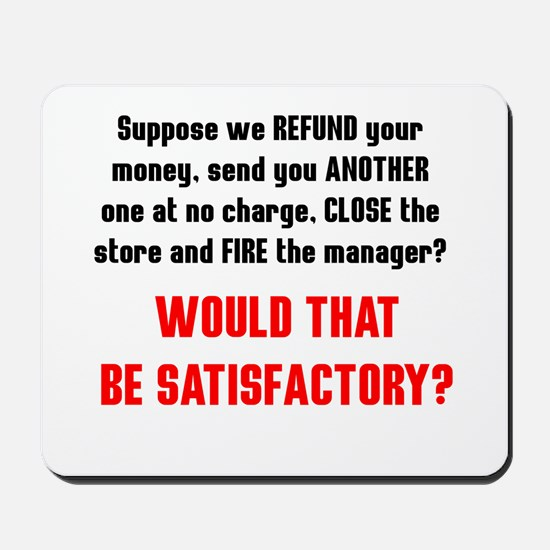 Customer Service Mousepad
