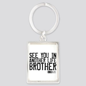 See You In Another Life Broth Portrait Keychain