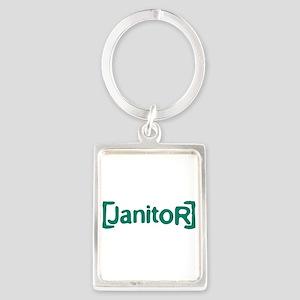 Scrubs Janitor Portrait Keychain