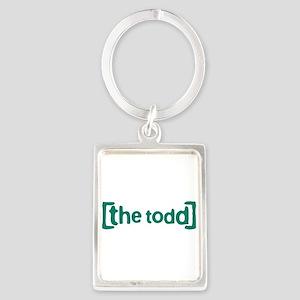 The Todd Portrait Keychain