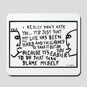 Blame Mousepad
