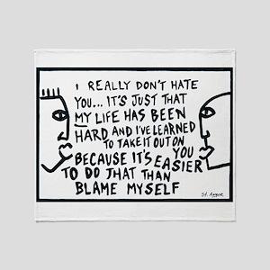 Blame Throw Blanket